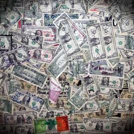 Money Wall by Tina Hailey - City,  Street & Park  Markets & Shops ( az, tinas captured moments, money )