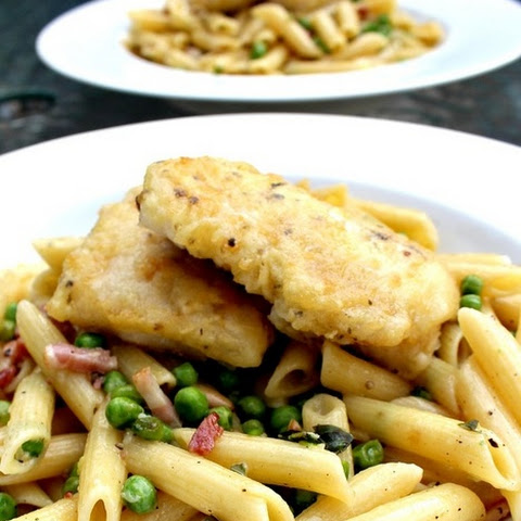 Cod and Bacon Pasta Dinner