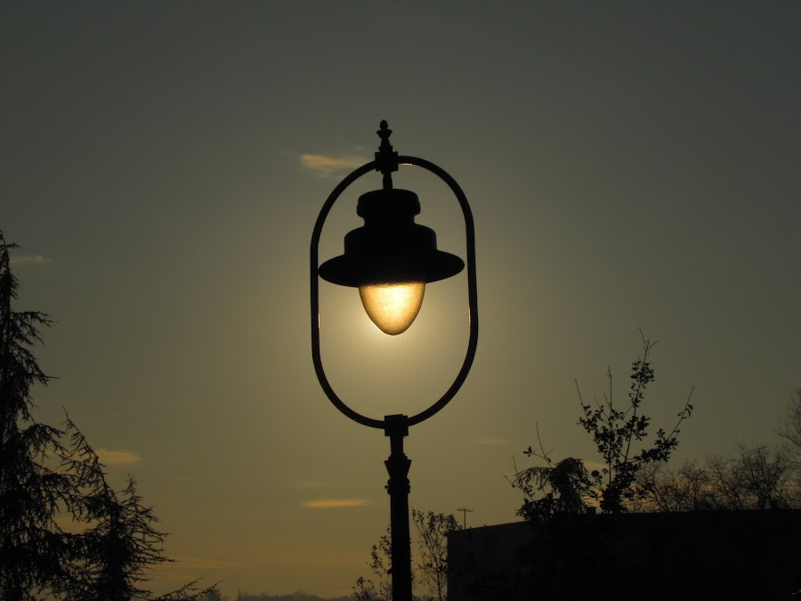 Lampion by Milica Vlajković - Artistic Objects Other Objects ( afternoon, autumn, sunset, light )