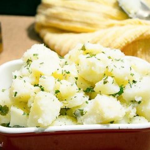 Lebanese Chicken And Potatoes Recipe — Dishmaps