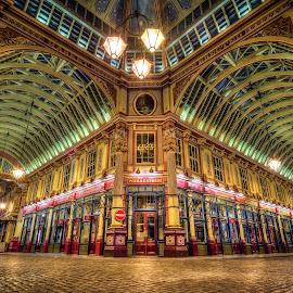 Market by Nick Moulds - Buildings & Architecture Public & Historical ( interior, market, shops, perspective, architecture )