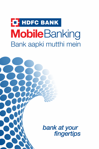 HDFC Bank MobileBanking Screenshot