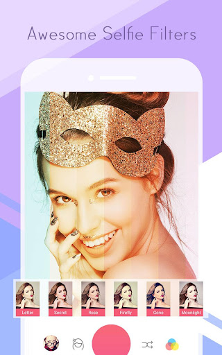 Sweet Selfie - selfie camera,beauty cam,photo edit screenshot 3