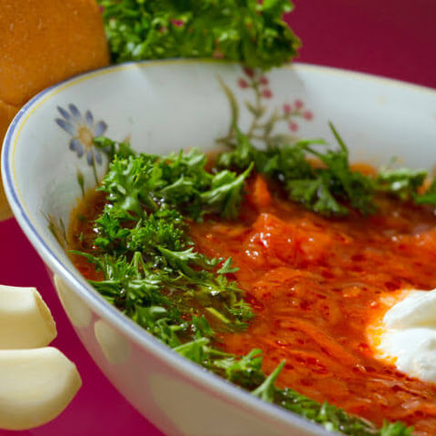 Borsch with Pork Ribs