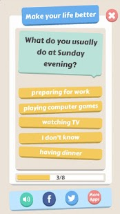 Funny Bedtime Quizzes - screenshot