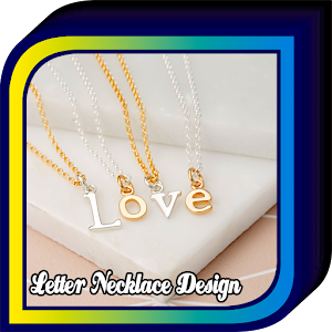 Letter Necklace Design