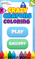 Screenshot of Crazy Crayons Coloring