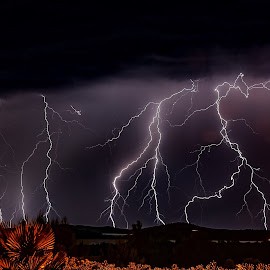 Cirre1 thunder by Christian Wilen - Landscapes Weather ( thunder )