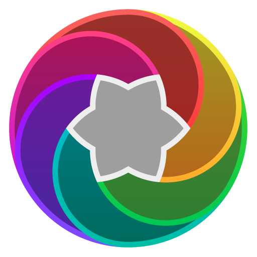 Gradeon - A Rounded Neon Icon Pack APK Cracked Download
