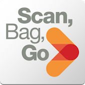 Scan, Bag, Go icon