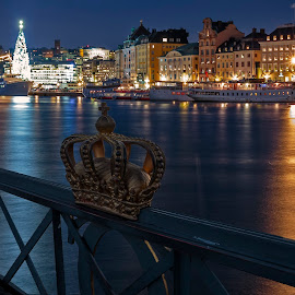 A Stockholm classic by Kennet Brandt - City,  Street & Park  Night