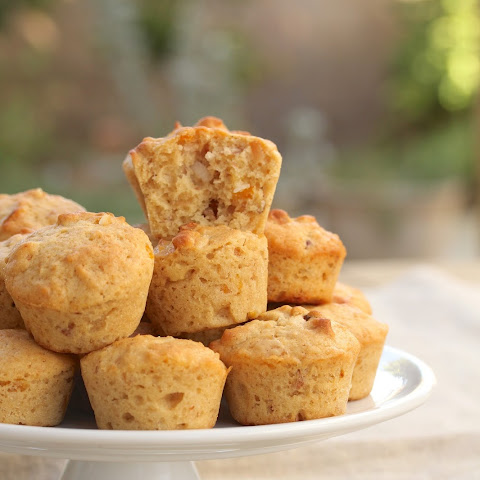 Apricot, Almond, and Toasted Coconut Muffins