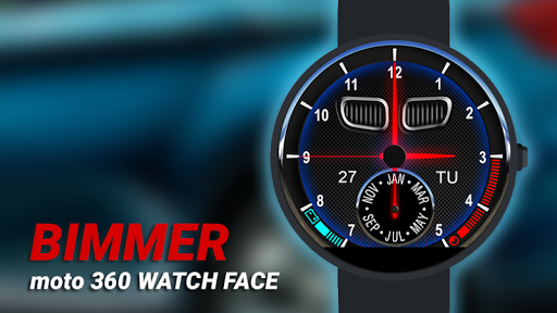 Bimmer Watch Face - Moto 360 - screenshot