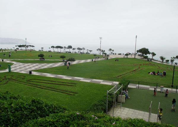 Lima City Park on the Ocean
