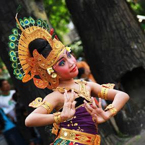 Dancers of Bali by Bram Antonius.T - People Musicians & Entertainers