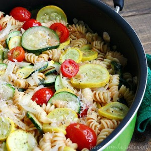 One Pot Summer Vegetable Pasta