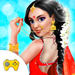 Indian Bride Fashion Doll Icon