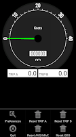 Screenshot of ComBase Speedometer