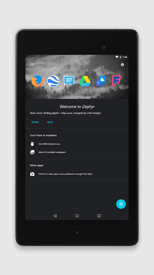 Zephyr - Icon Pack Screenshot 10