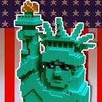 USA Block Craft Exploration 3D Icon