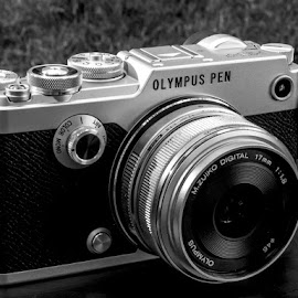 Sexy by James Kirk - Black & White Objects & Still Life ( black and white, camera, digital, olympus )
