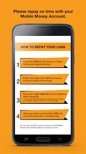 Fido Money Lending screenshot 5