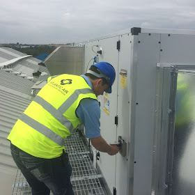 commercial ventilation commissioning