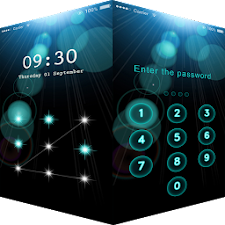 AppLock Theme Blooming Iris