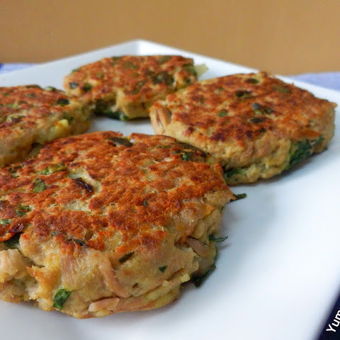 Tuna And Spinach Burgers