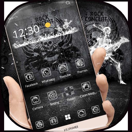 Dark Rock Hip Hop Live Theme (app)