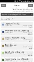 Screenshot of Bryant Bank Mobile