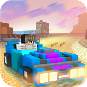 Play this blocky racing game and be the best! APK Icon