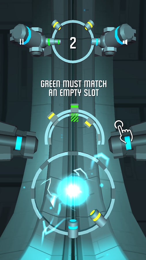 Spin Reactor: Fast Reaction Puzzle Game Screenshot 1
