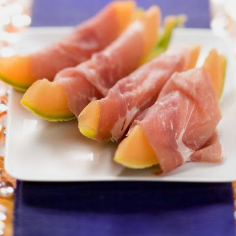 Parma Ham Melon Slices