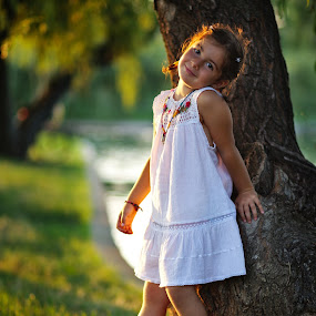 Mini model by Nicu Buculei - Babies & Children Child Portraits ( child, model, girl, nature, children, kids, portrait, golden hour, kid )
