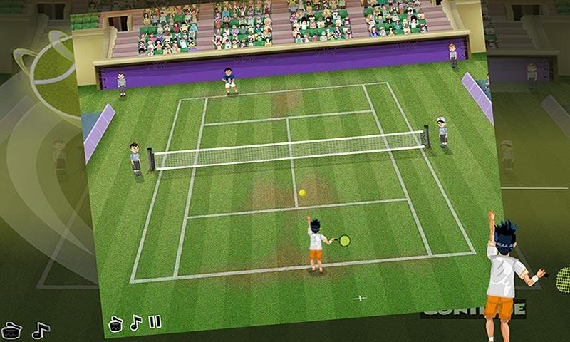android Virtual Pro Tennis Screenshot 2