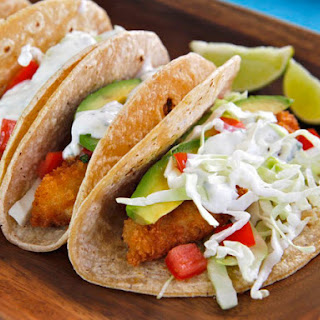 Panko Fried Fish Tacos Recipes