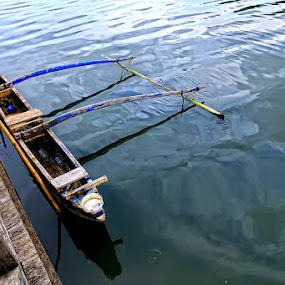 Transportasi Masyarakat Pulau by Suwito Pomalingo - Transportation Boats ( indonesia, papua )