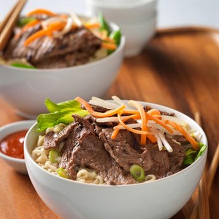 seaweed with recipe ramen Beef Ramen Noodle Recipe Bowl   Yummly