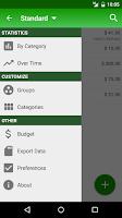 Screenshot of Expenses