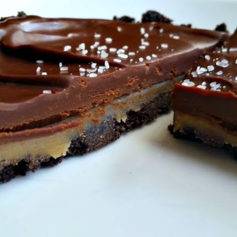 Chocolate Salted Caramel Oreo Tarts