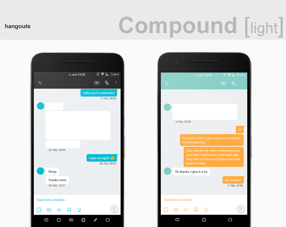 Compound [light] Substratum (Android Oreo/Nougat) Screenshot 6