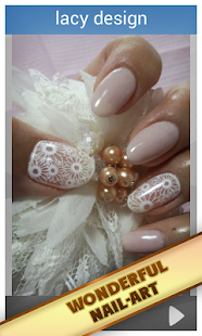 Ideas wedding manicure - screenshot