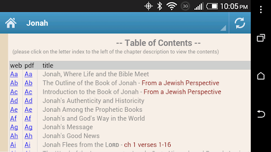 Bible Devotional Commentary - screenshot