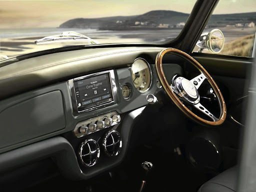 The interior is superb, featuring classic design with modern technology and luxury