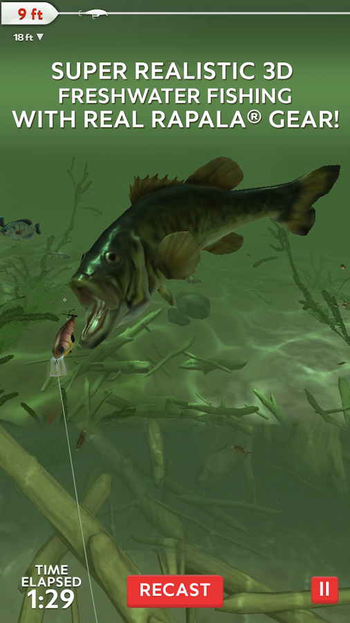 Rapala Fishing - Daily Catch Screenshot 0