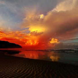 Parangtritis Beach by Abhirama Arro - Landscapes Sunsets & Sunrises
