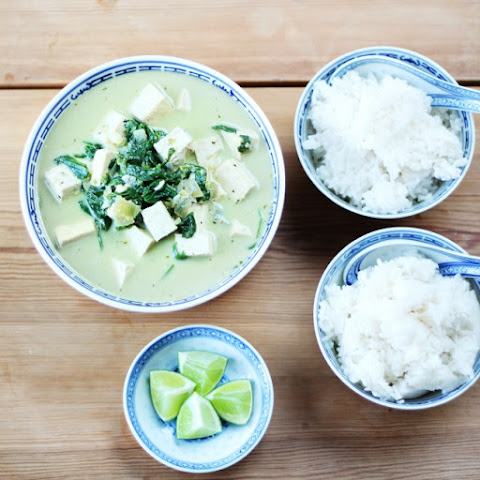 Spinach & Tofu Green Curry