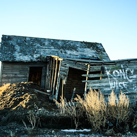 Sunrise On The Past by Sylvia Meier - Buildings & Architecture Other Exteriors ( nature, exteriors, color, texture, beauty, sunlight )