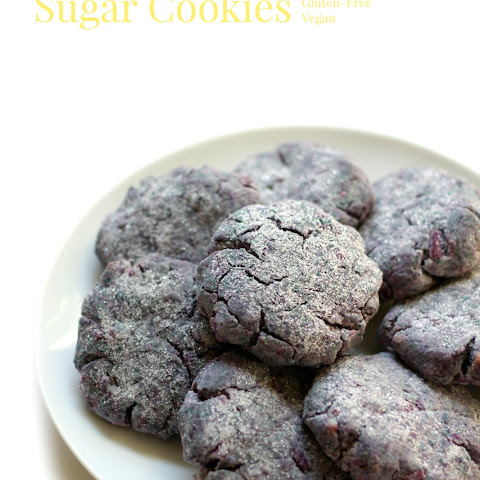 Purple Sweet Potato Sugar Cookies